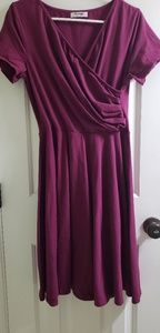 Pintage V neck dress size large